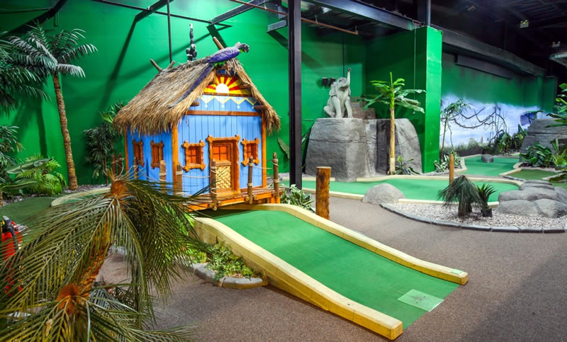 STL/NCR provides Retail Paradise for Golf Chain